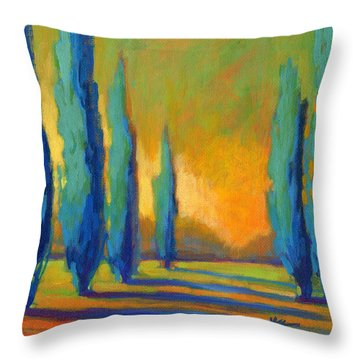 Cypress Road 5 Throw Pillow