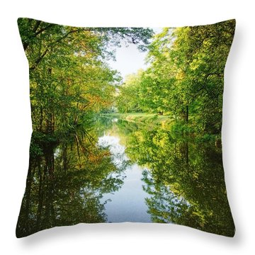 D And R Canal  Throw Pillow