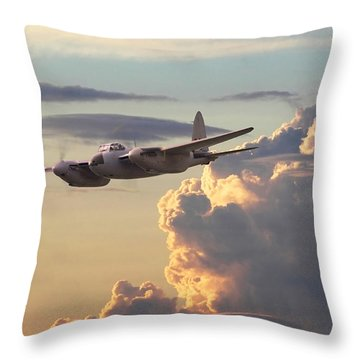 D  H Mosquito - Pathfinder Throw Pillow
