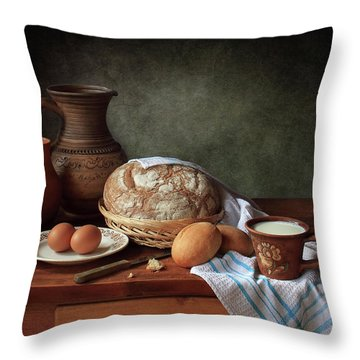Bread Throw Pillows