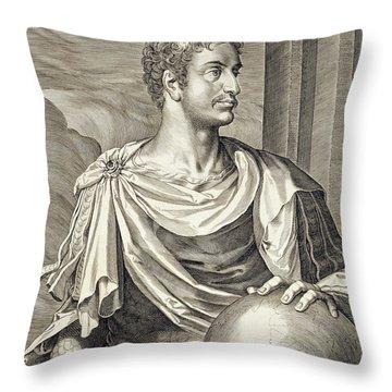 D. Octavius Augustus Emperor Of Rome 27 Throw Pillow