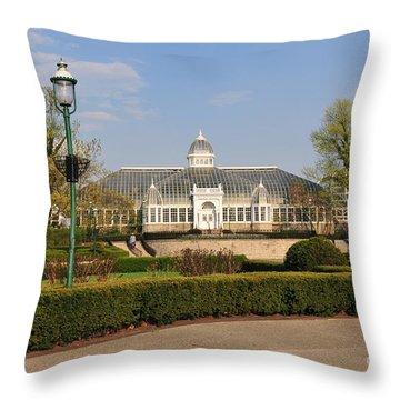 D5l311 Franklin Park Conservatory Throw Pillow