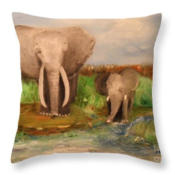 Daddy's Boy Throw Pillow