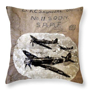 Dad's Flight Training Logbook Throw Pillow