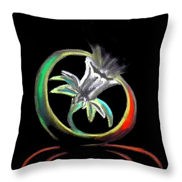 Daffodil In Spirit Throw Pillow