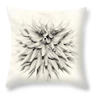 Dahlia 2 Throw Pillow