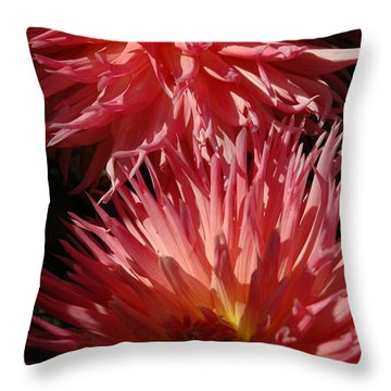 Dahlia Vi Throw Pillow
