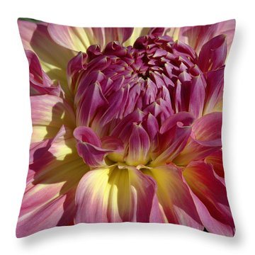 Dahlia Vii Throw Pillow