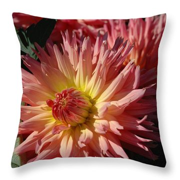Dahlia Viii Throw Pillow