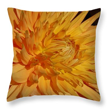 Dahlia Xiii Throw Pillow