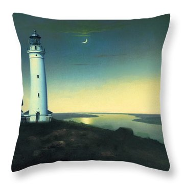 Daily Illuminations Throw Pillow