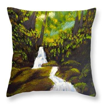 Daintree Natural Park Throw Pillow