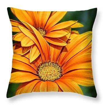 Daisy Blend Throw Pillow