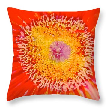 Daisy Mae Throw Pillow