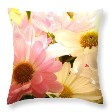 Daisy Magic Throw Pillow