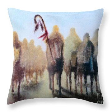 Dakota 38 Throw Pillow