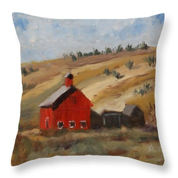 Dakota Barn Throw Pillow