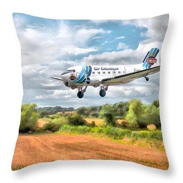 Dakota - Cleared To Land Throw Pillow
