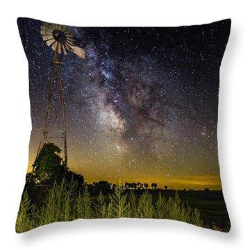 Dakota Night Throw Pillow