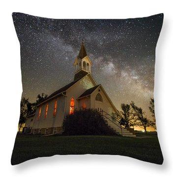 Dakota Territory Milky Way Throw Pillow