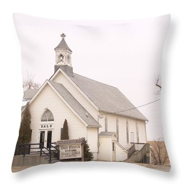 Dale Church Throw Pillow