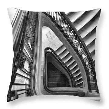 Dali Stairs Throw Pillow
