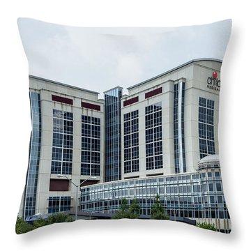 Dallas Children's Medical Center Hospital Throw Pillow