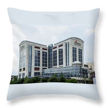 Dallas Children's Medical Center Hospital Throw Pillow