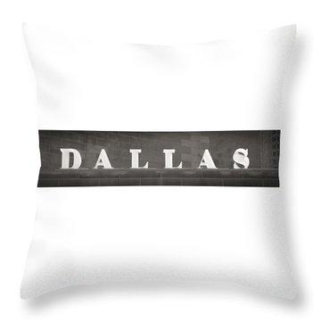Dallas Throw Pillow
