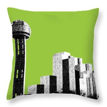Dallas Reunion Tower Throw Pillow