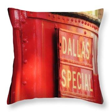 Dallas Special Front Entrance Throw Pillow