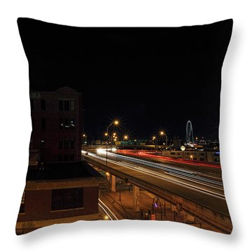 Dallas West End  Throw Pillow