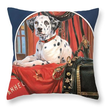 Dalmation Ab Throw Pillow