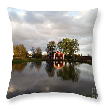 Dalsrud-reflection Throw Pillow