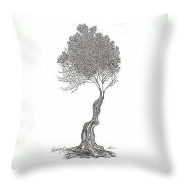 Damages Throw Pillow