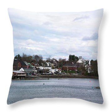 Damariscotta  Throw Pillow by Guy Whiteley