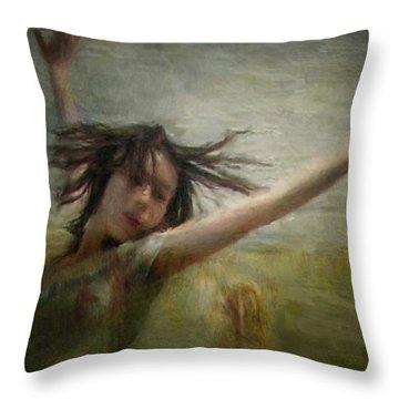 Dance Despite The Coming Fall Throw Pillow