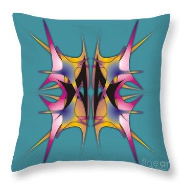 Dance Electric 2 Throw Pillow