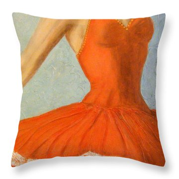 Dance Fever... Throw Pillow