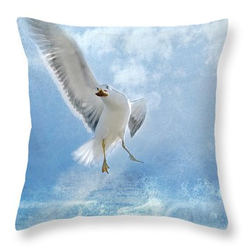Dance For Food Throw Pillow
