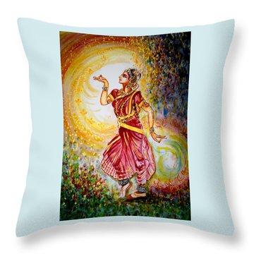 Dance 2 Throw Pillow by Harsh Malik