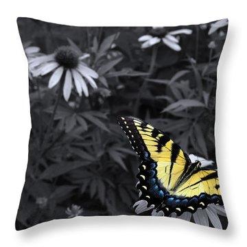 Dance In The Garden Throw Pillow