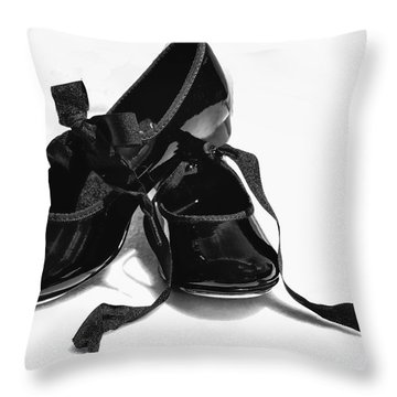 Dance Throw Pillow by John Crothers