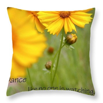 Dance Love Work 200509 Throw Pillow