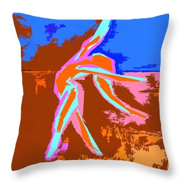 Dance Of Joy 2 Throw Pillow by Patrick J Murphy