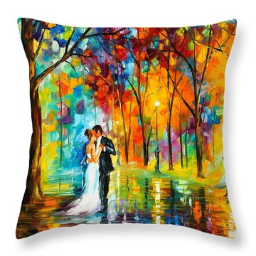 Dance Of Love Throw Pillow