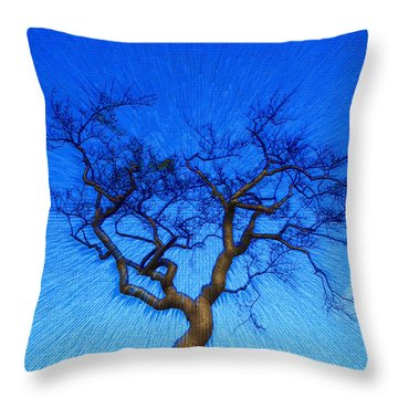Dance Of The Dawn Throw Pillow