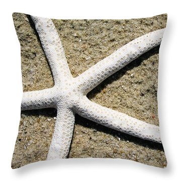Dance Of The Starfish Throw Pillow
