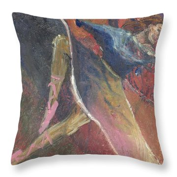 'dance Over Me' Throw Pillow