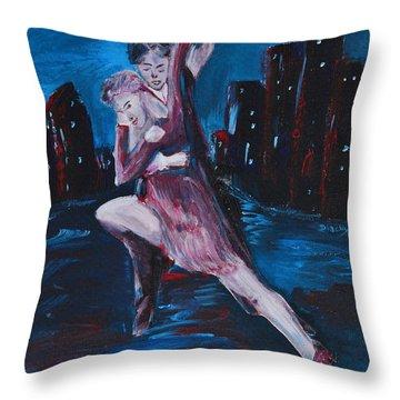 Dance The Night Away Throw Pillow